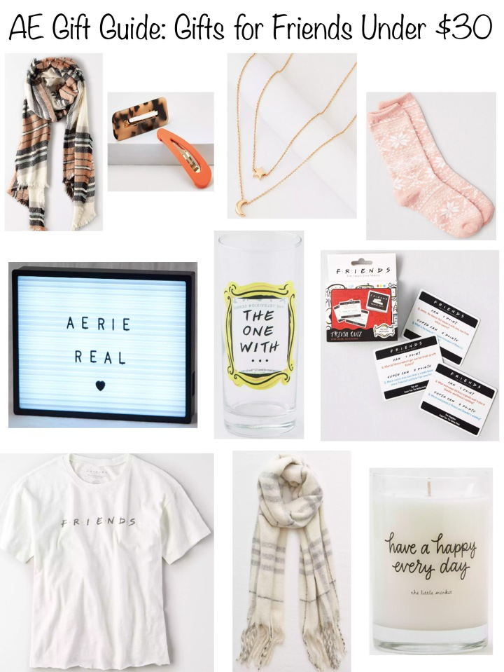 AE Gift Guide - Gifts For Friends Under $30
