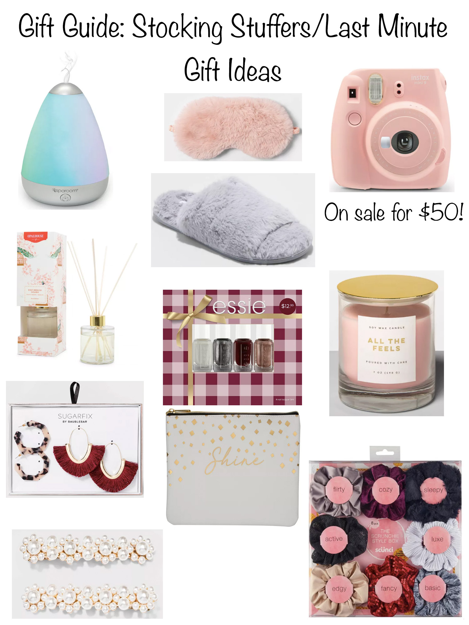 Last Minute Gift Ideas Stocking Stuffers